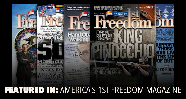 Dale Fricke Holsters - Featured in America's First Freedom Magazine